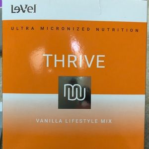 16 packets Thrive vanilla lifestyle mix.